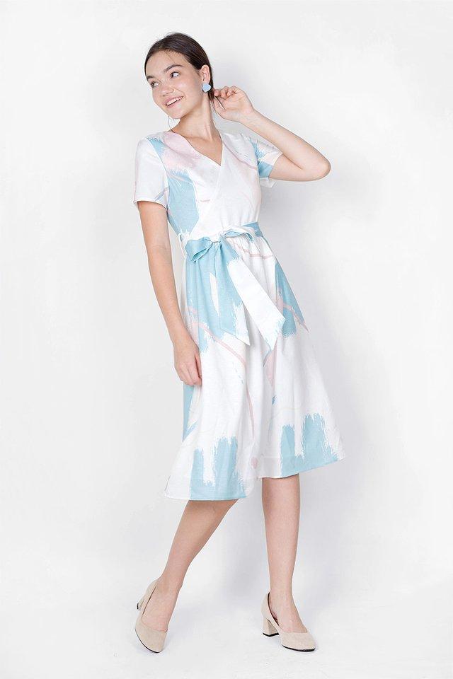 Inspire Midi Dress (White) - Extra Small
